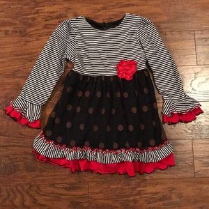 Rare Editions Girls Tunic Top size 6X
